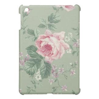 Vintage Pink Rose Floral iPad Mini case