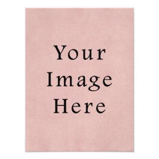 Vintage Pink Rose Parchment Paper Background Art Photo