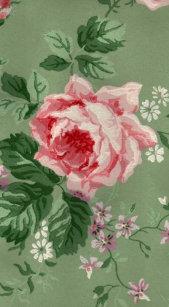 Vintage Victorian Wallpaper Flowers Electronics Tech Accessories