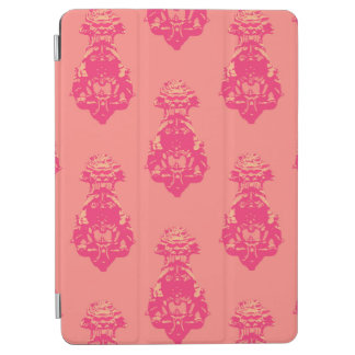 Vintage pink/salmon colour background iPad air cover