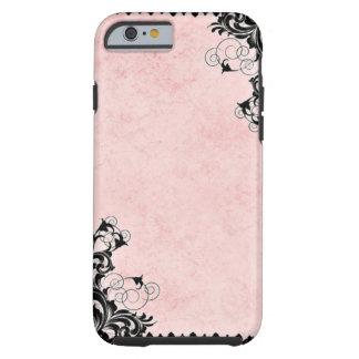 Vintage Pink Tough iPhone 6 Case