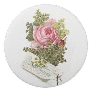 Vintage-pinkrose-advetisement Eraser