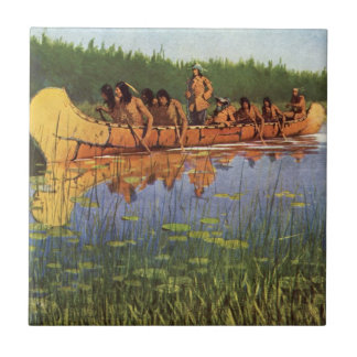 Vintage Pioneers, Great Explorers by Remington Tile