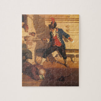 Vintage Pirate Captain, Sword Fight by NC Wyeth Puzzles