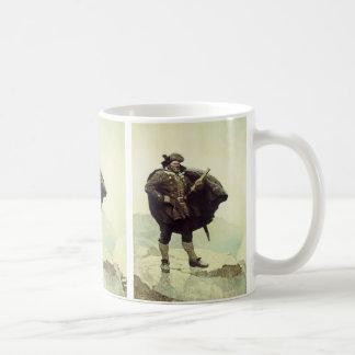 Vintage Pirates, Captain Bill Bones by NC Wyeth Classic White Coffee Mug