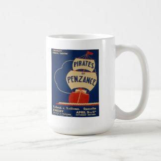 """Vintage """"Pirates of Penzance"""" WPA Poster Mug"""