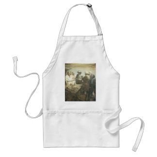Vintage Pirates Preparing for the Mutiny, NC Wyeth Standard Apron