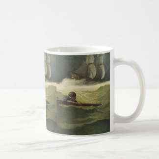 Vintage Pirates, Wreck of the Covenant by NC Wyeth Classic White Coffee Mug