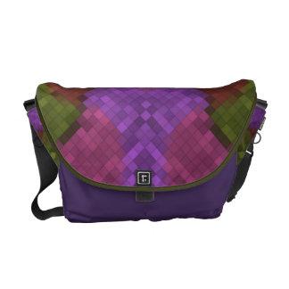 Vintage pixel colors  -  Messenger Bags