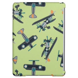 Vintage planes iPad air cover