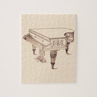 Vintage Player Piano Jigsaw Puzzle