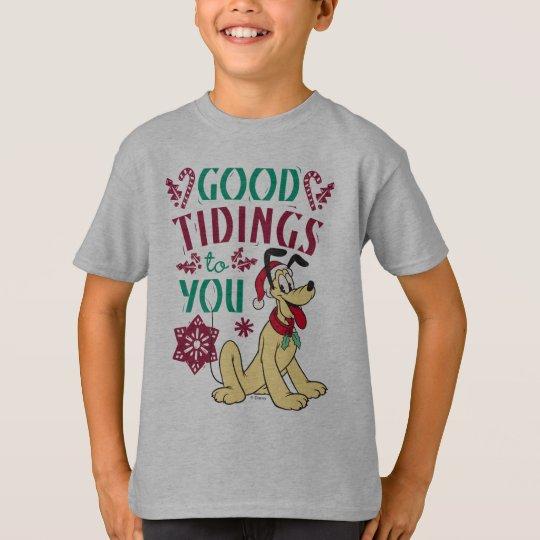 Vintage Pluto | Good Tidings to You T-Shirt