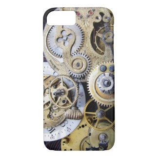 Vintage Pocket Watch Gears for Steampunk iphone iPhone 7 Case
