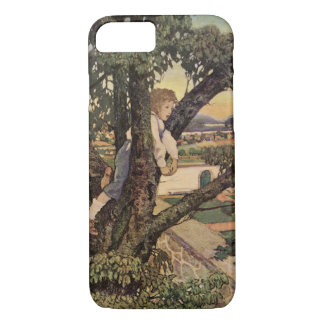 Vintage Poem, Foreign Land by Jessie Willcox Smith iPhone 7 Case