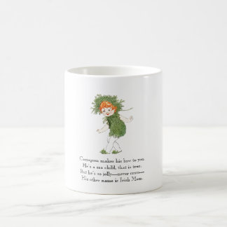 Vintage Poem Irish Moss Seaweed Rhyme Funny Kid Coffee Mug