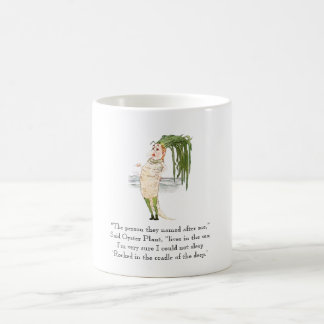 Vintage Poem Oyster Plant Vegetable Rhyme Cute Coffee Mug