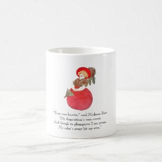 Vintage Poem Red Beet Cute Madame Jolly Mother Coffee Mug