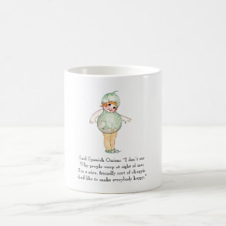 Vintage Poem Spanish Onion Cute Kids Mug