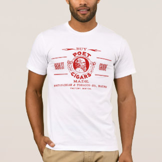 Vintage Poet Cigar Ad Label T-Shirt