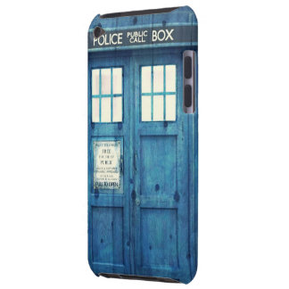 Vintage Police phone Public Call Box Barely There iPod Cover