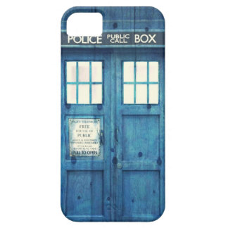 Vintage Police phone Public Call Box iPhone 5 Cases