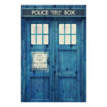 Vintage Police phone Public Call Box Posters