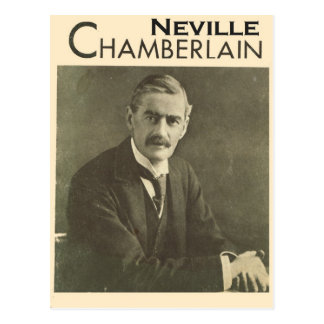Vintage Politicians, Neville Chamberlain Postcard