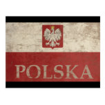 Vintage Polska Post Card