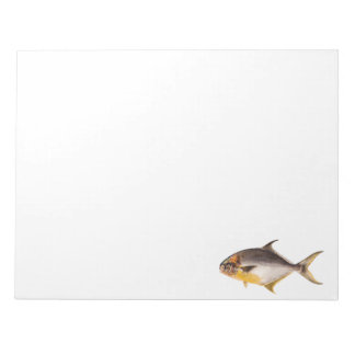 Vintage Pompano Fish- Game Fishes Template Blank Notepad
