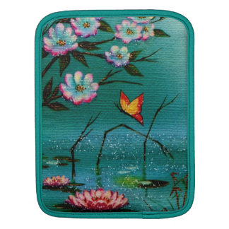 Vintage Pond iPad Sleeve