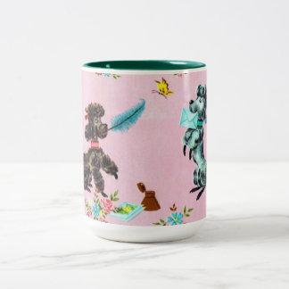 Vintage Poodle Coffee Mug