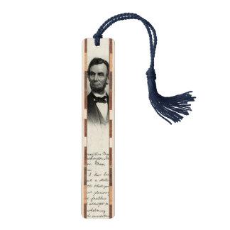 Vintage Portrait of Abraham Lincoln Bookmark