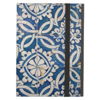 Vintage portuguese azulejo iPad air case