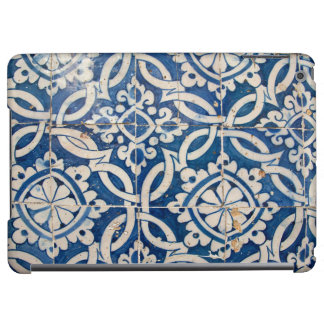 Vintage portuguese azulejo iPad air covers