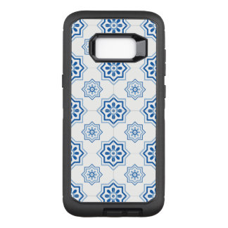 Vintage Portuguese Azulejo Tile Pattern OtterBox Defender Samsung Galaxy S8+ Case