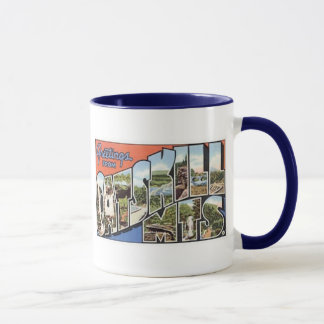Vintage postcard Catskill Mts Mug