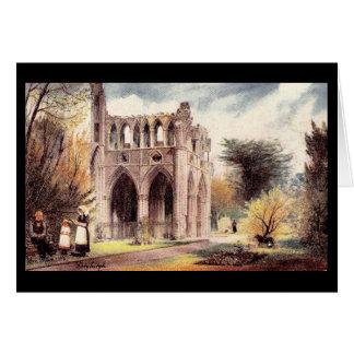 Vintage Postcard Dryburgh Abbey, Scotland