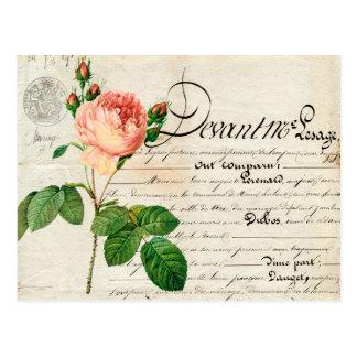 vintage postcard french ephemera