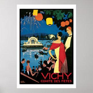 Vintage Poster Art Vichy France