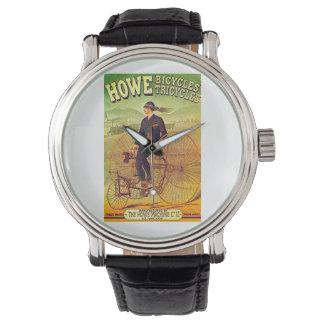 VINTAGE POSTER - BICYCLES WATCH