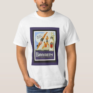Vintage poster, Brylcreem hair product for men T-Shirt