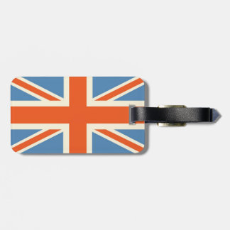 Vintage Poster Classic Union Jack British(UK) Flag Luggage Tag
