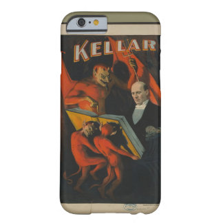 Vintage Poster of Kellar Magician with Devils Barely There iPhone 6 Case