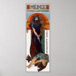 Vintage Poster Print: Mucha - Medee (Medea)