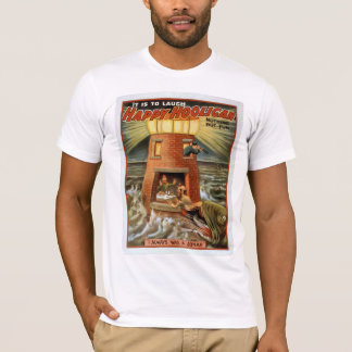 "Vintage Poster Tee ""Happy Hooligan"""