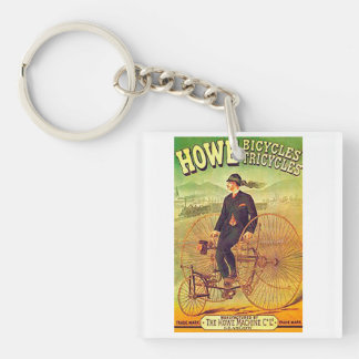 VINTAGE POSTERS - BICYCLES KEYCHAIN