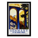 Vintage Posters Travel Germany The Black Forest