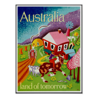 Vintage Posters Travel Historical Art Australia