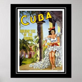 Vintage Posters Travel Visit Cuba Large Size
