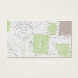 Vintage Postmarks II Business Profile Cards